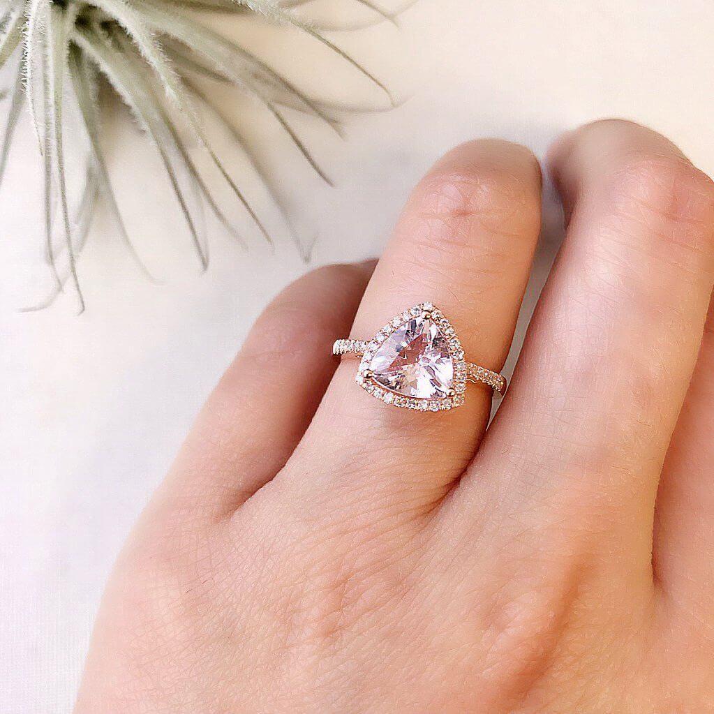 انواع برش الماس مثلثی