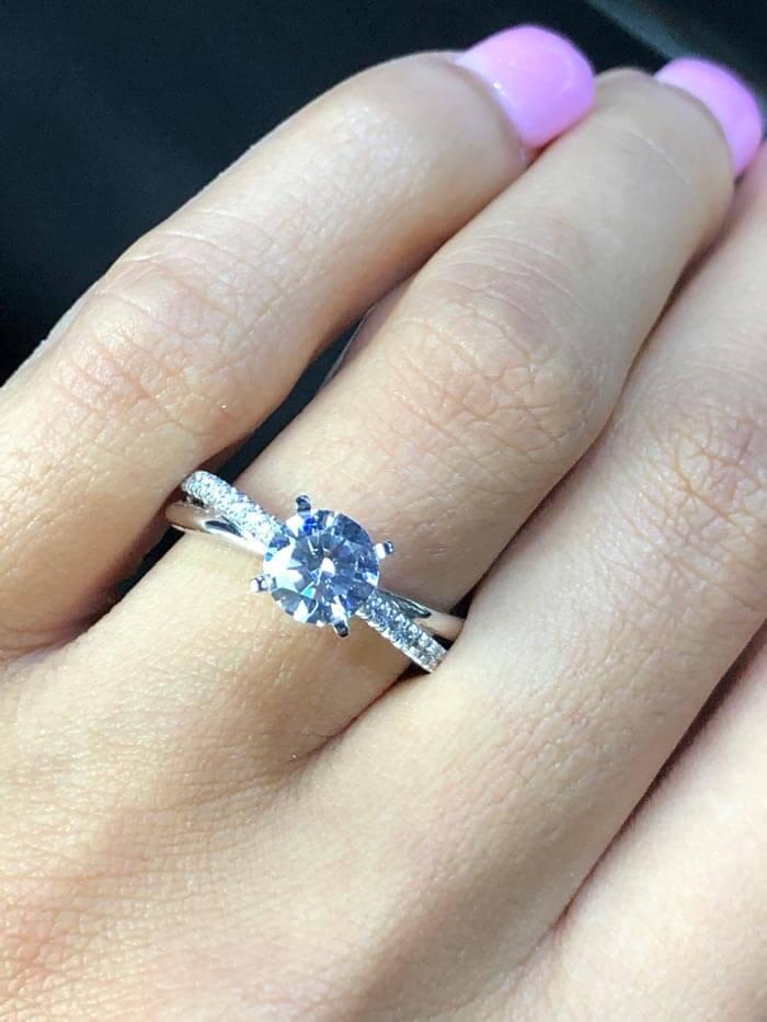 برش الماس گرد