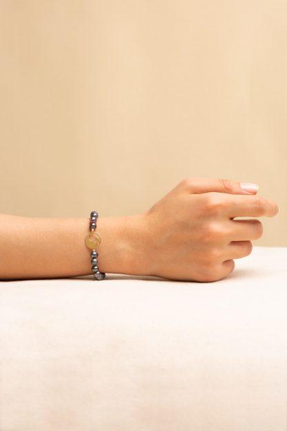 دستبند طلا سنگی جوجه