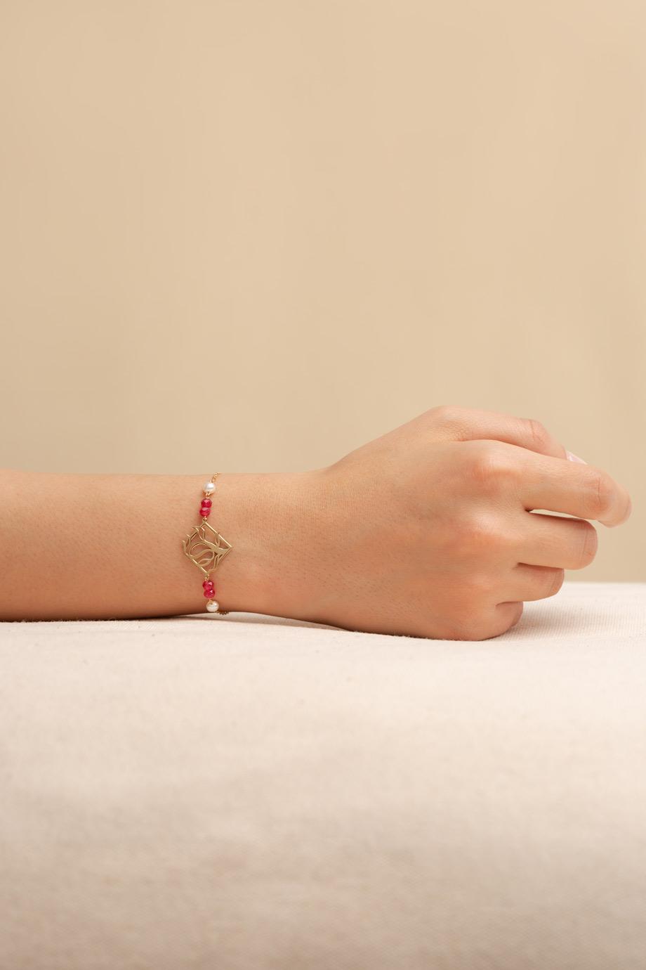 دستبند طلا درخت