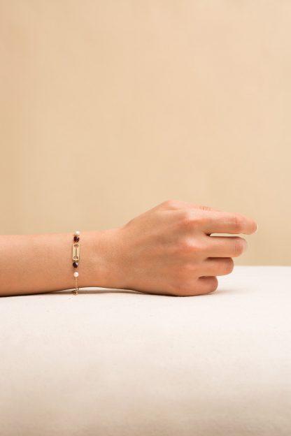 دستبند طلا استخوان