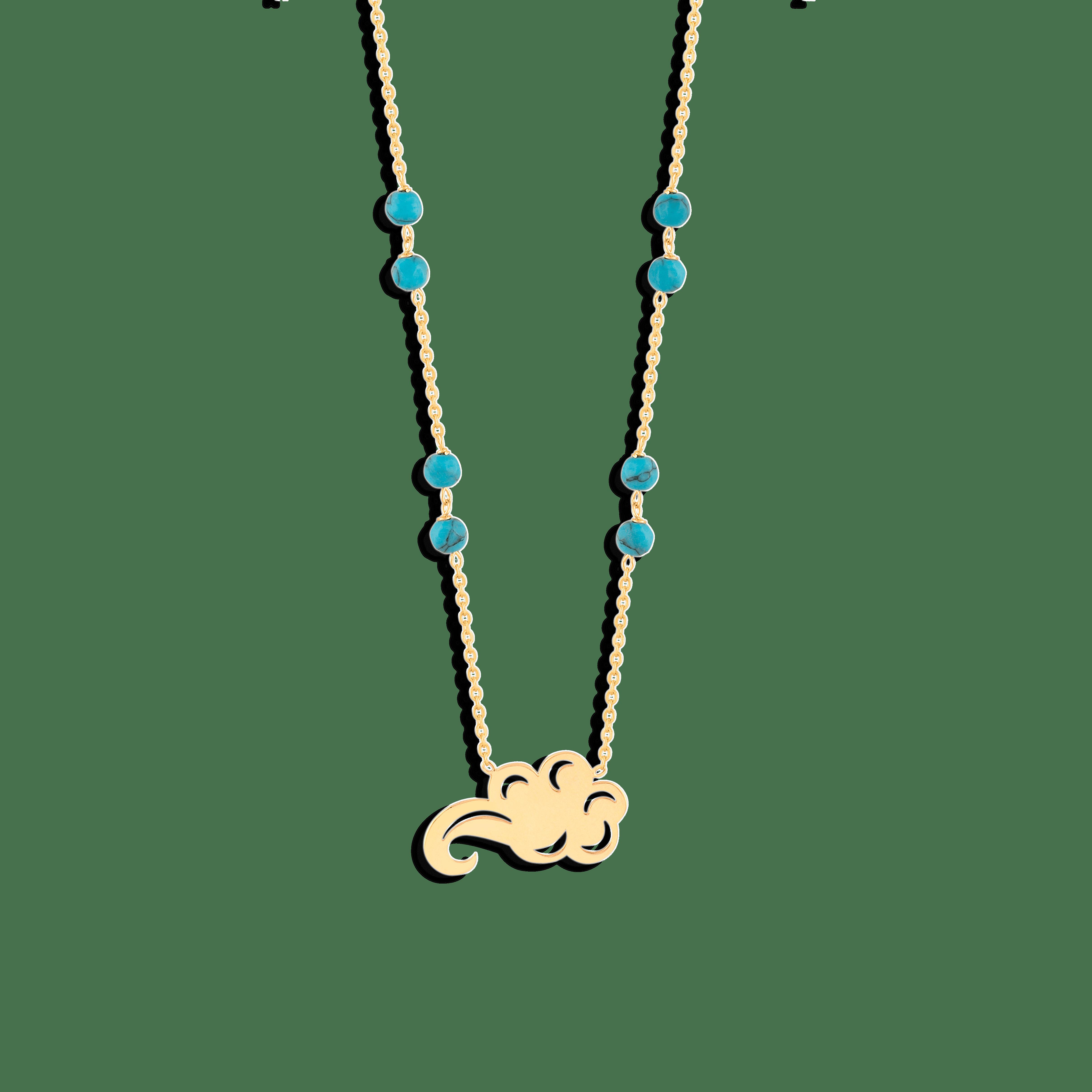 گردنبند طلا ابر