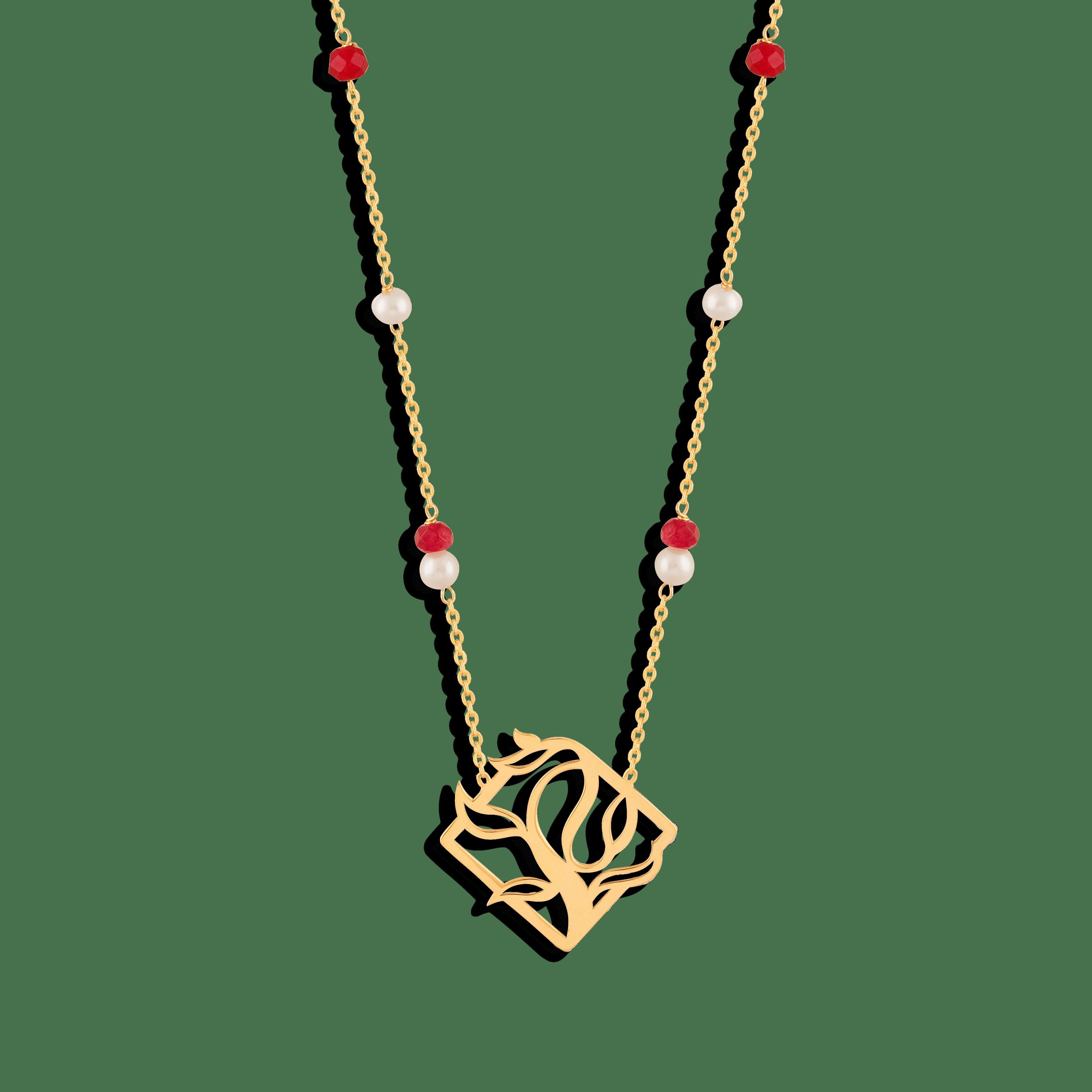 گردنبند طلا درخت