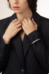 انگشتر نقره وایولا