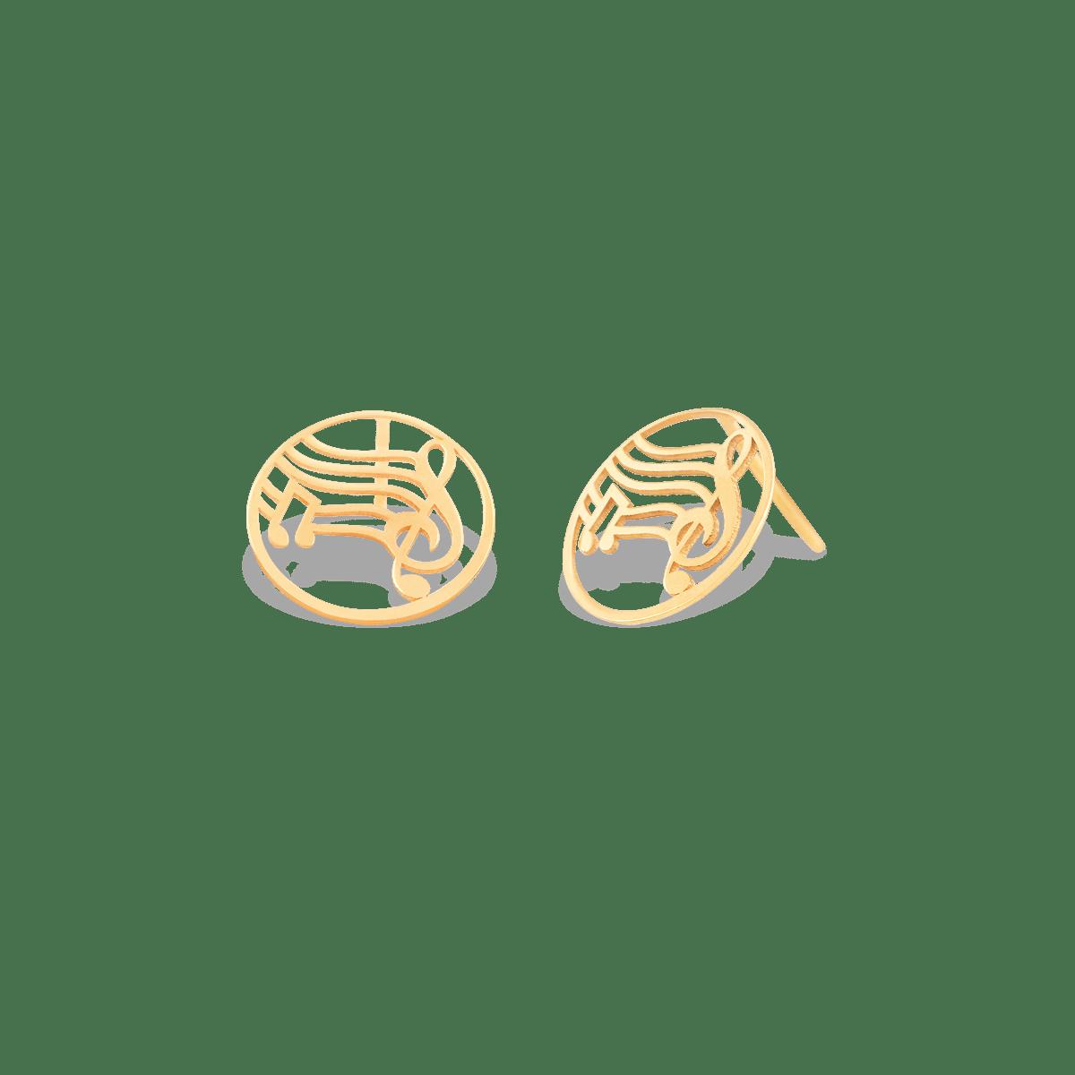 گوشواره طلا نت