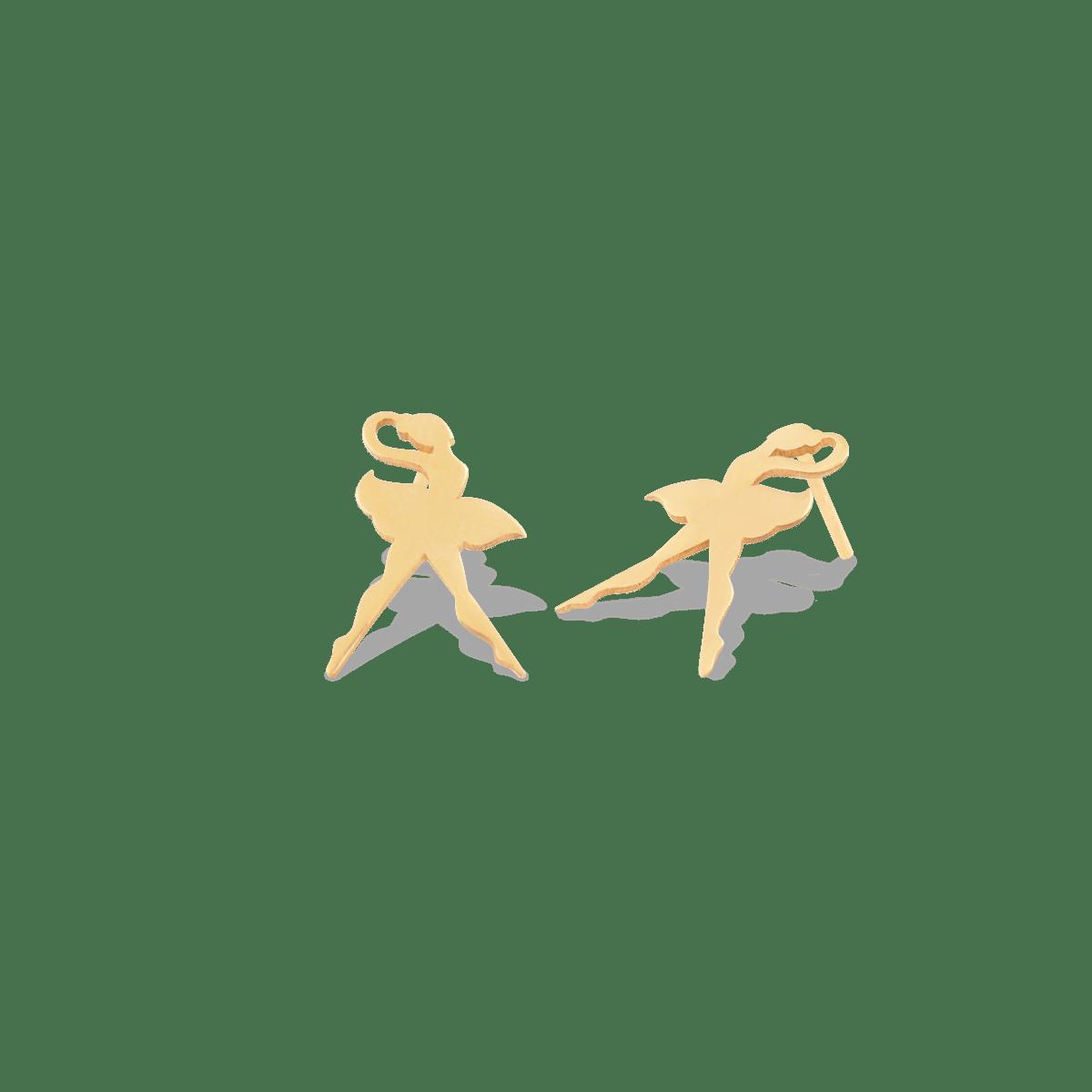 گوشواره طلا بالرین
