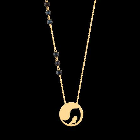گردنبند طلا گنجشک