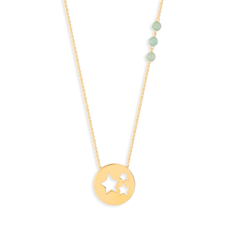 گردبند طلا ستاره