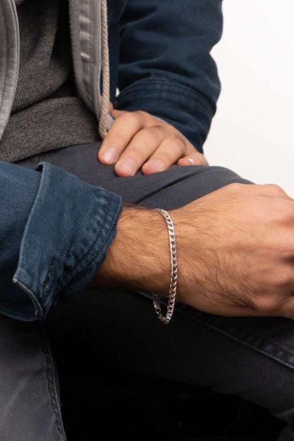 دستبند نقره کارتیه