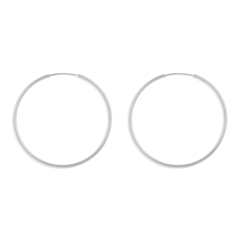 گوشواره نقره حلقه بزرگ
