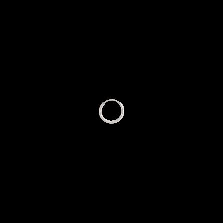 گوشواره نقره تک لنگه ای حلقه کوچک سایز 1