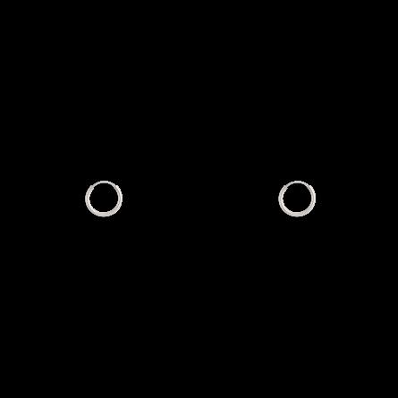 گوشواره نقره حلقه کوچک سایز 2