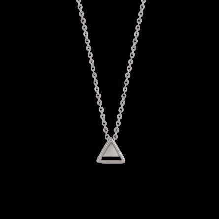 گردنبند نقره مثلث