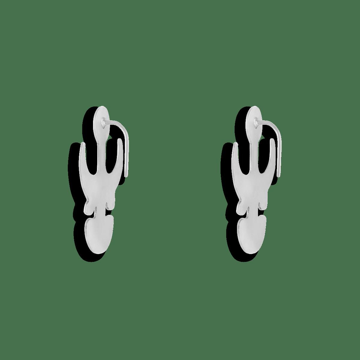 گوشواره نقره دیو