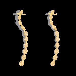 گوشواره طلا آبشار