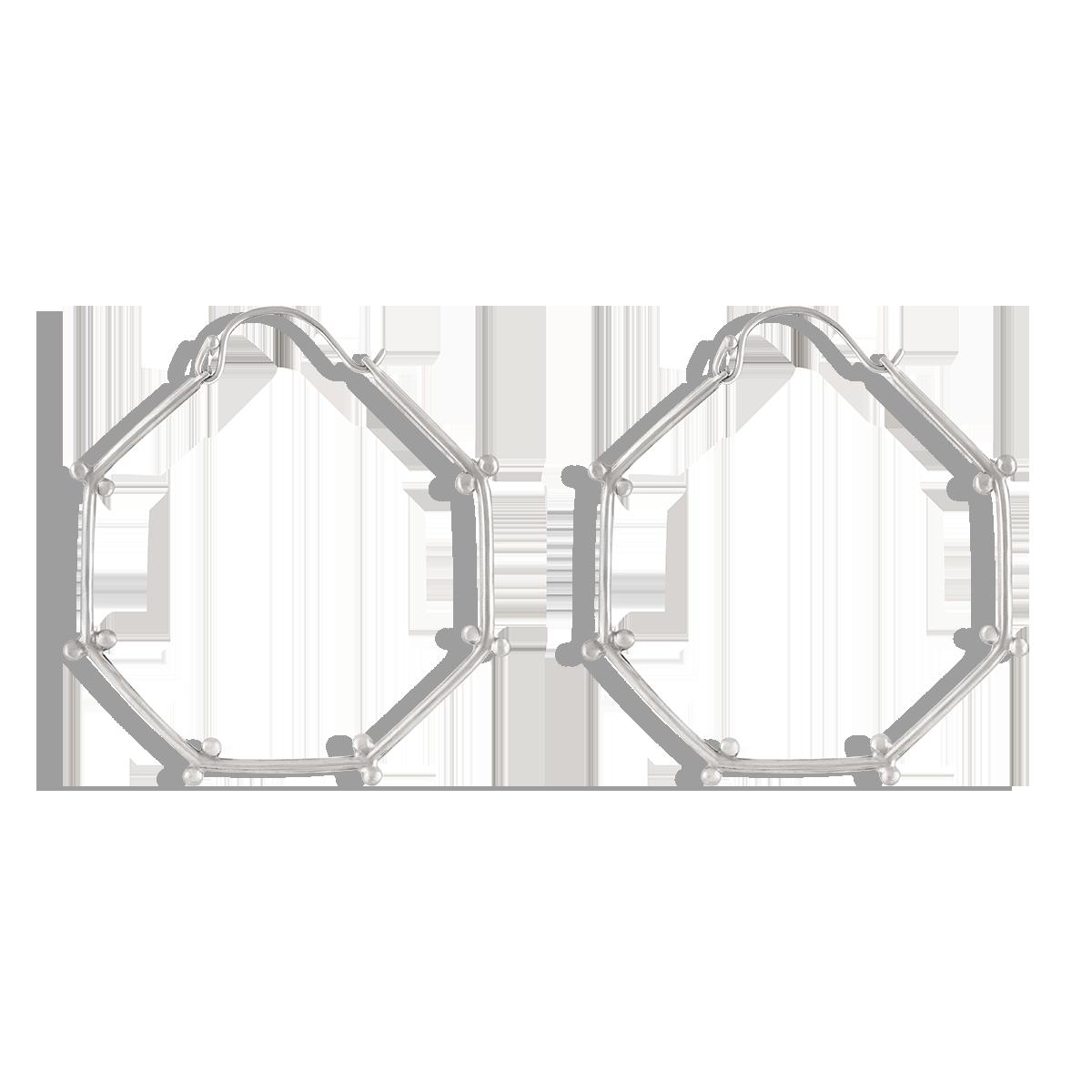گوشواره نقره سِرکل داتس Circle Dots