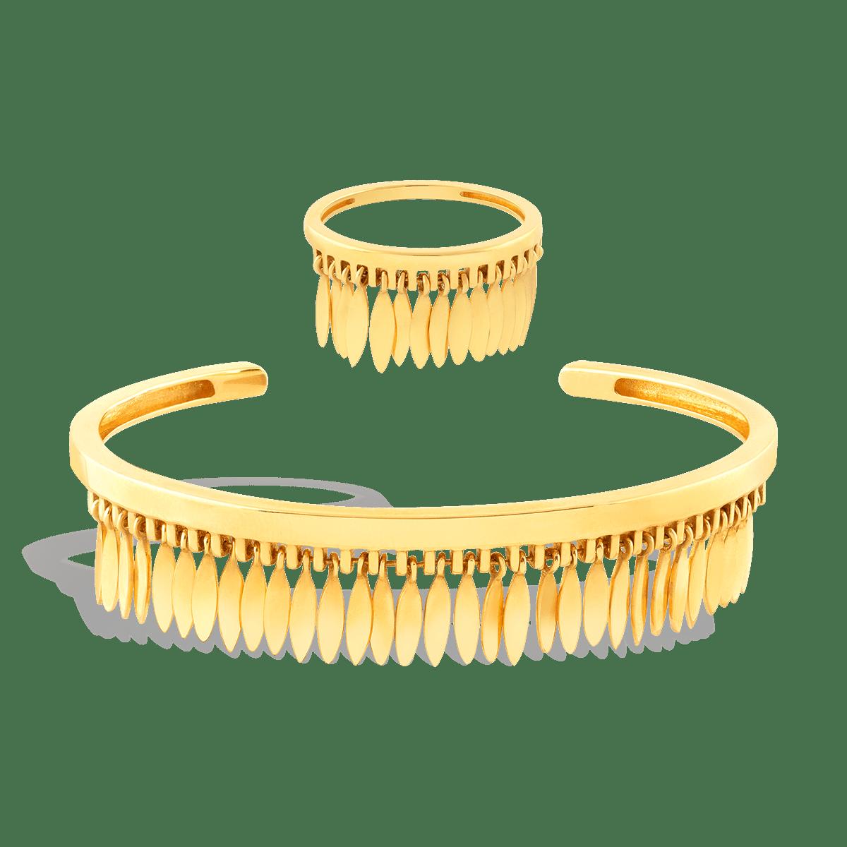 انگشتر طلا آپاچی