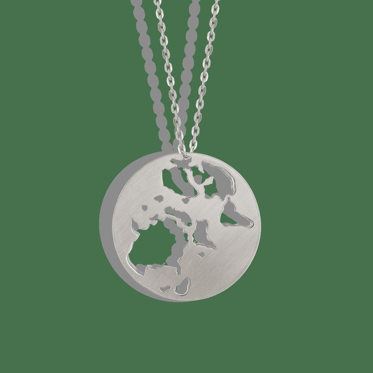 گردنبند نقره ورلد World