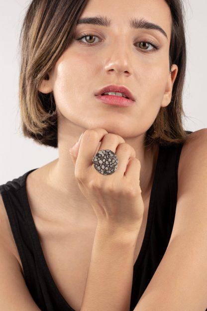 انگشتر نقره راک Rock