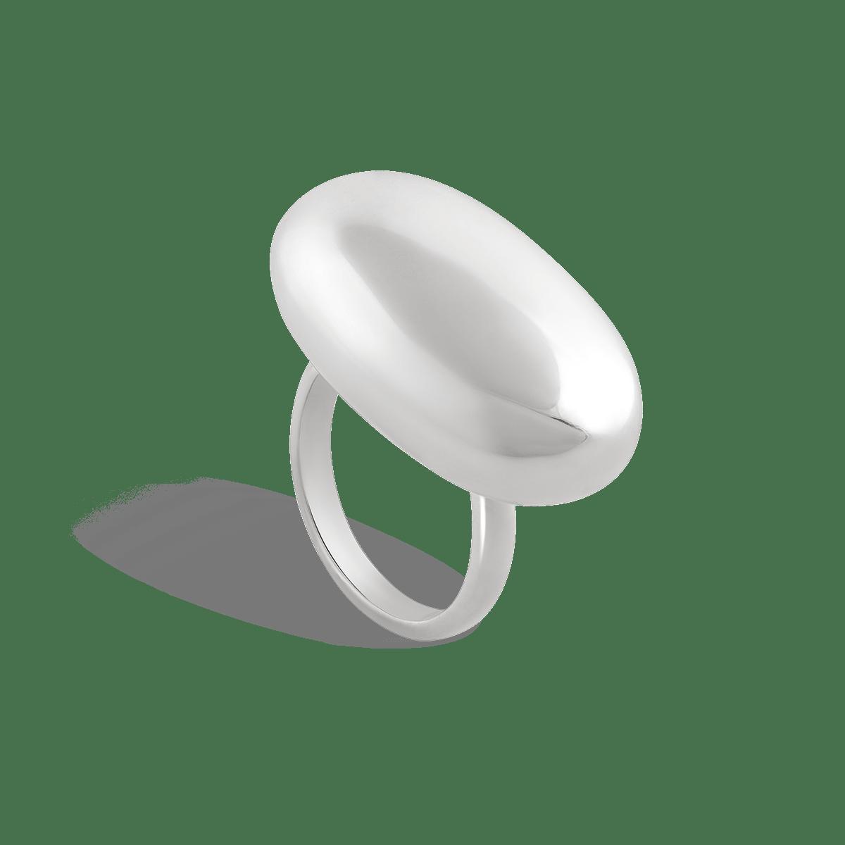 انگشتر نقره اوال Oval