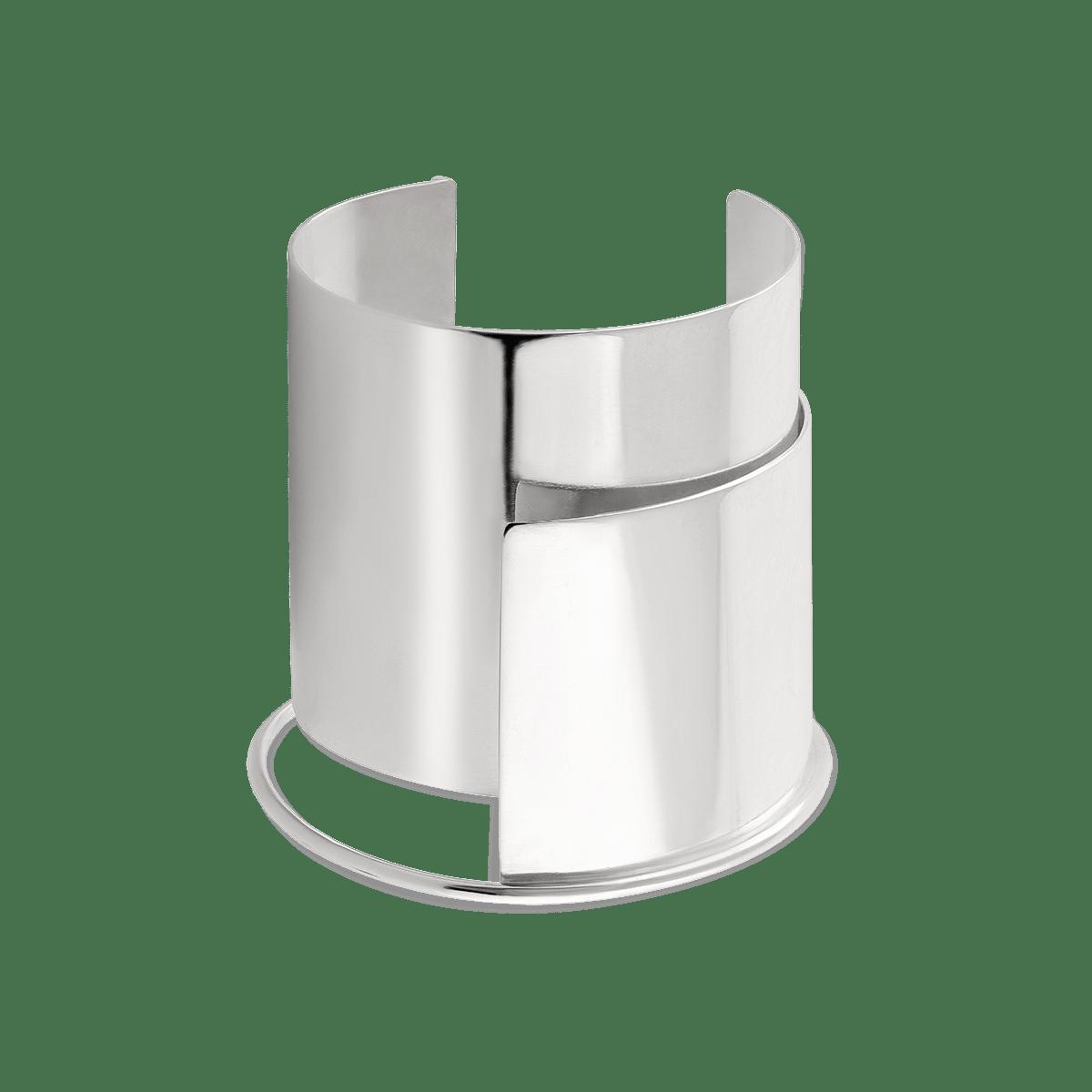 دستبند نقره پلیت Plate