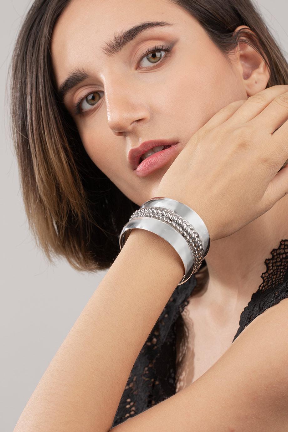 دستبند نقره ایو Eve
