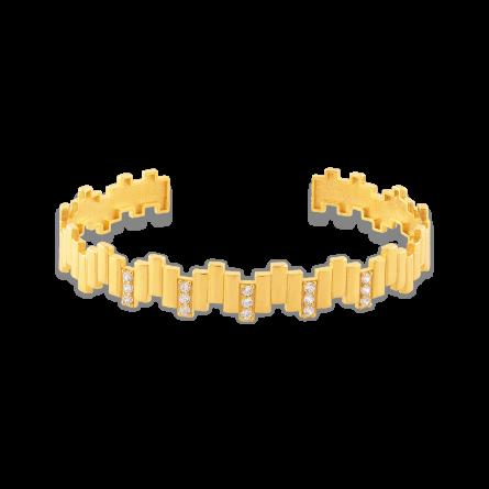 النگو طلا خطی