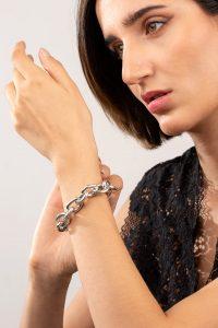 دستبند نقره سالید Solid