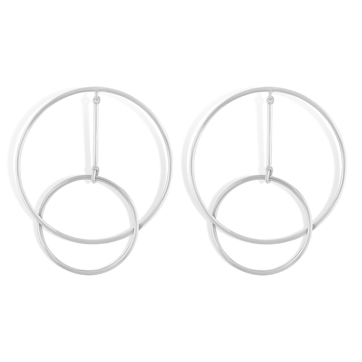 گوشواره نقره رینگز Rings