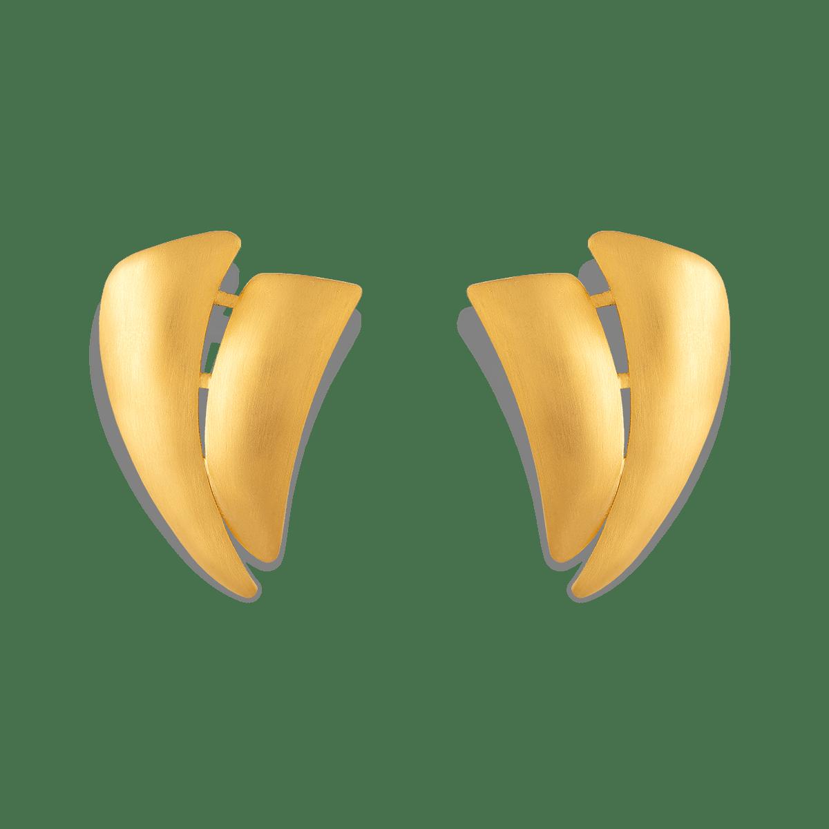 گوشواره طلا بادبان