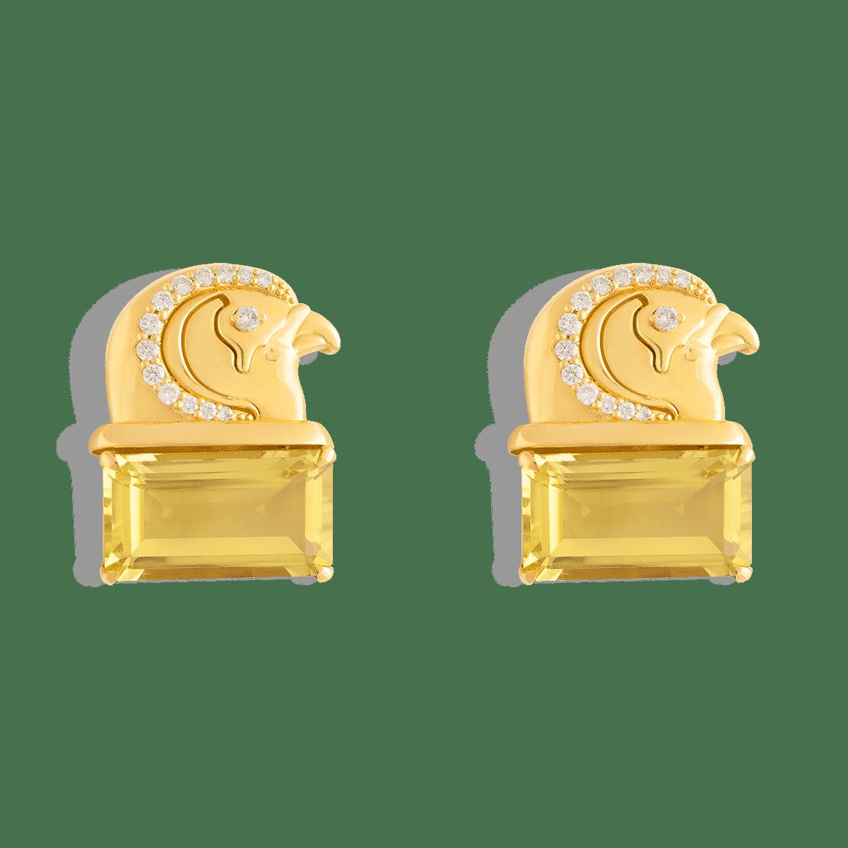 گوشواره طلا طوطی