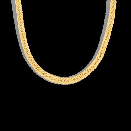 گردنبند طلا کارتیه کوبیده