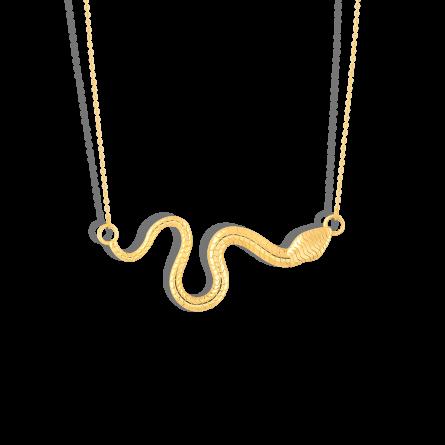گردنبند طلا دلما