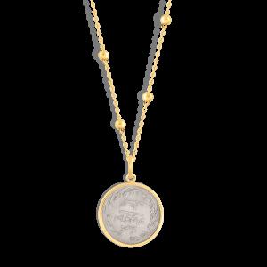 گردنبند طلا سکه