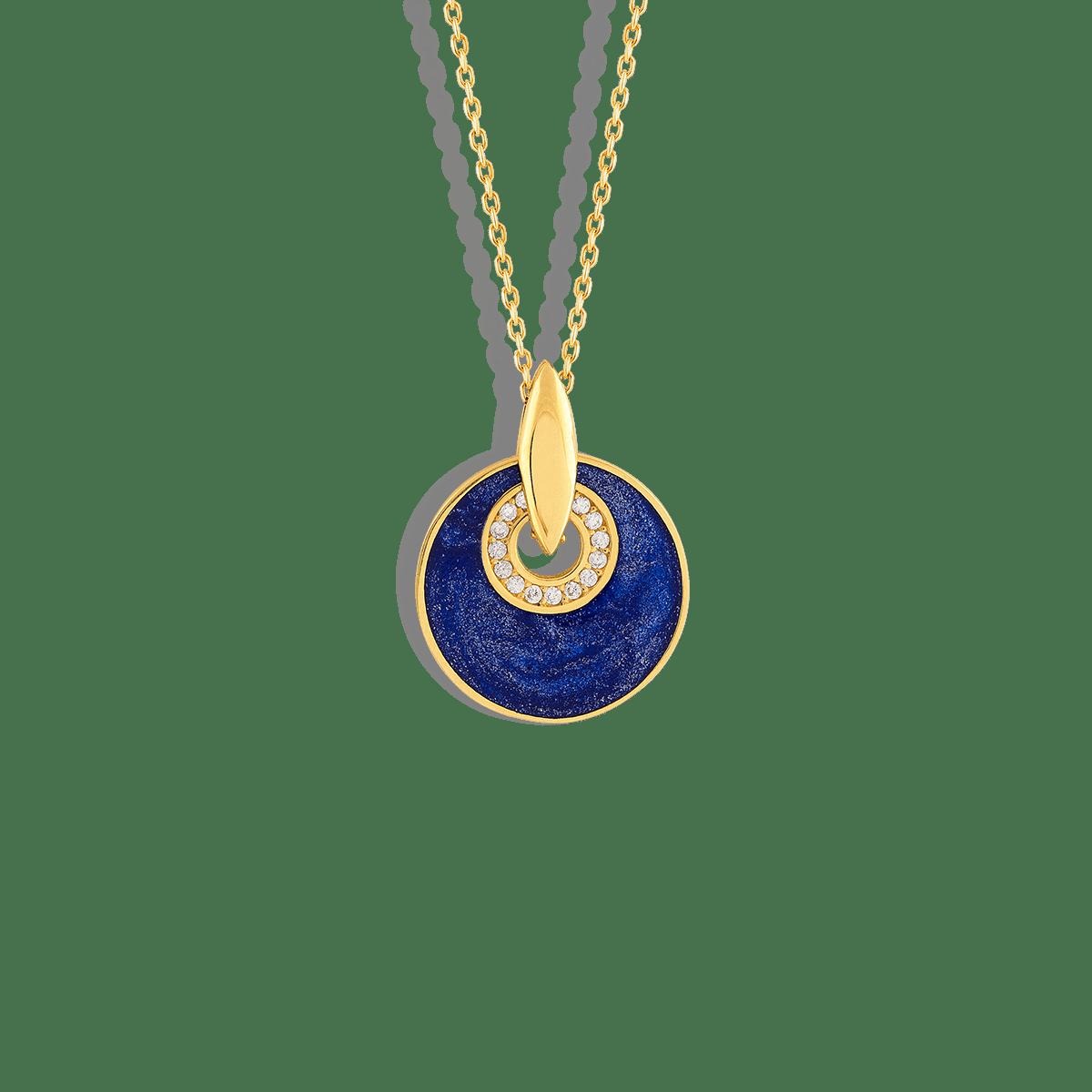 گردنبند طلا دایره راما