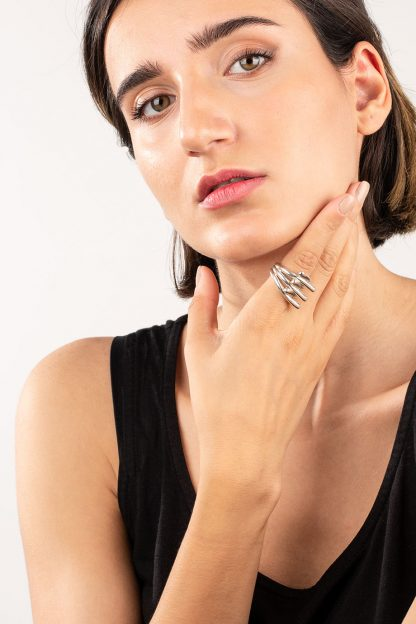 انگشتر نقره هندز Hands