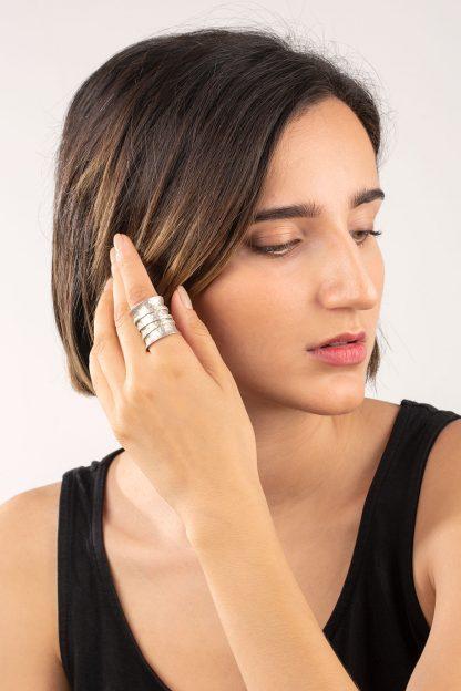انگشتر نقره Band