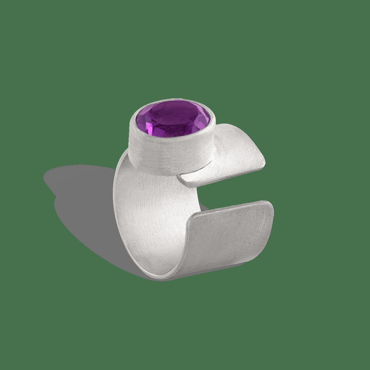 انگشتر نقره آمیتیس Amitis