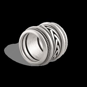 انگشتر نقره آژاکس Ajax