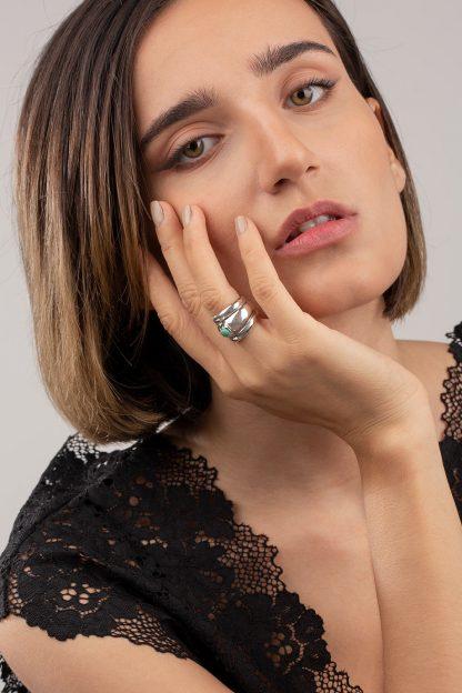 انگشتر نقره فیروزه