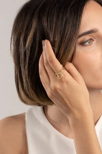 انگشتر طلا حلقه ای