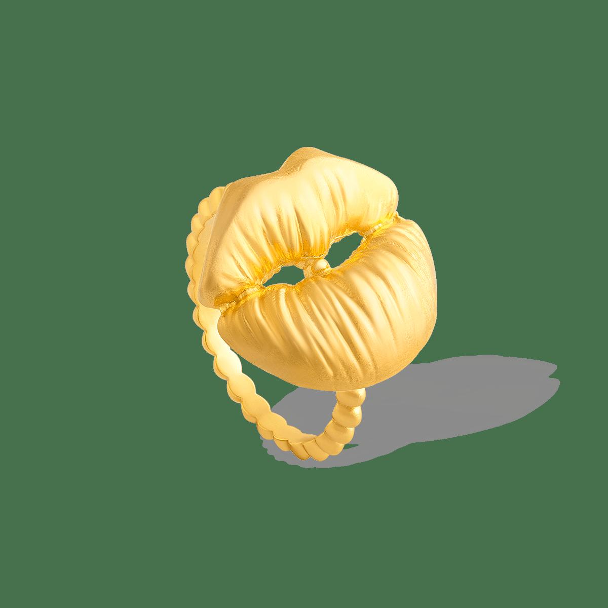 انگشتر طلا لب