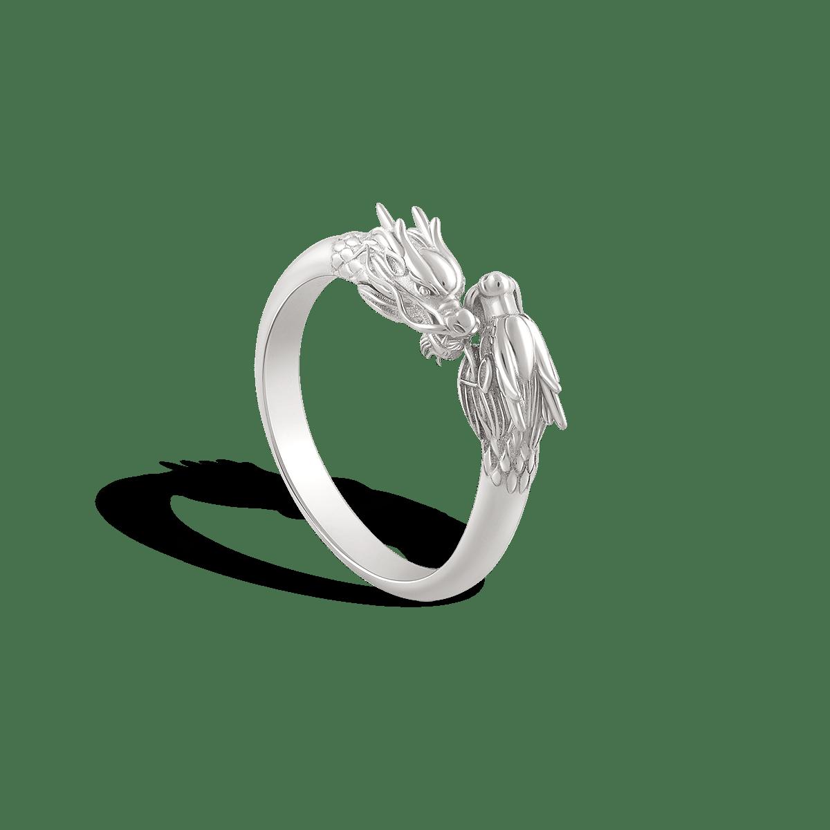 انگشتر نقره تایفِن Typhon